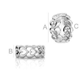 0522-Swarovski Elements 5818 Iridescent Red Pearl 6mm