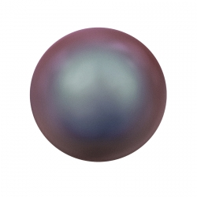 2013-Swarovski Elements 5810 Iridescent Red Pearl 8mm