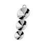 P1050-SWAROVSKI ELEMENTS 1122 Crystal Vitrail Medium 18mm-1buc