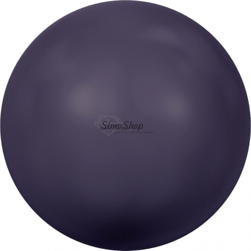 2728-Swarovski Elements 5817 Dark Purple Pearl 8mm 1 buc