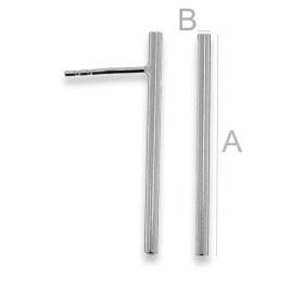 2729-Swarovski Elements 5817 Platinum Pearl 8mm 1 buc