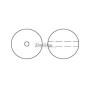 2117-Swarovski Elements 1088 Peridot Foiled PP 18 2.5mm-1 buc