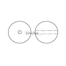 P1273-Swarovski Elements 1088 Crystal Aurore Boreale F SS34 7mm