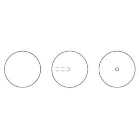 P2035-SWAROVSKI ELEMENTS 5040 Crystal Golden Shadow 8mm