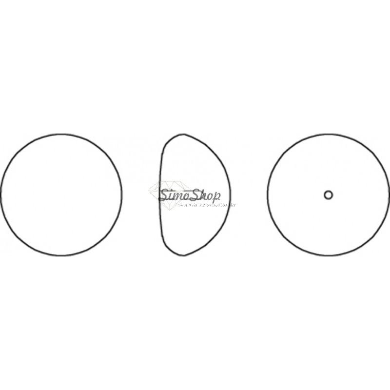 P1630-Swarovski Elements 6106 Crystal Golden Shadow 22mm