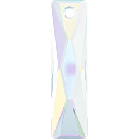 P1806-SWAROVSKI ELEMENTS 6465 Crystal Aurore Boreale 25x7mm 1 bu