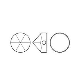 P2098-Swarovski Elements 1088 Crystal Foiled SS29 6mm