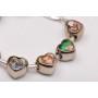 P2539-Swarovski Elements 1088 Vintage Rose Foiled SS29 6mm