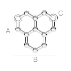 P1963-Swarovski Elements 1088 Ruby Foiled SS29 -6mm