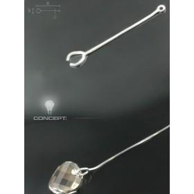 P0002-Swarovski Elements 6228 Blue Zircon Aurore Boreale 10mm