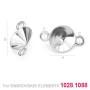 P0035-SWAROVSKI ELEMENTS 1122 Crystal Vitrail Medium SS47-11mm