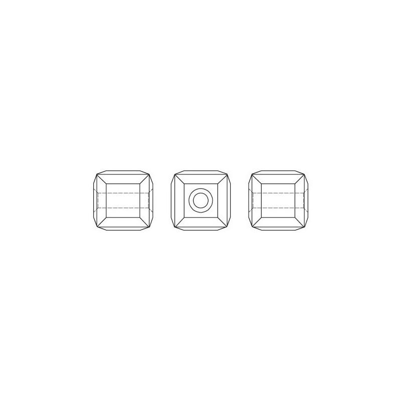 4745 MM 10,0 CRYSTAL AB F SWAROVSKI ELEMENTS 4745 Crystal Aurore Boreale 10mm