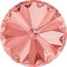 P0552-SWAROVSKI ELEMENTS 1122 Rose Peach Foiled SS47 -11mm-1buc