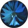 P2358-SWAROVSKI ELEMENTS 1122 Bermuda Blue Foiled SS47 11mm