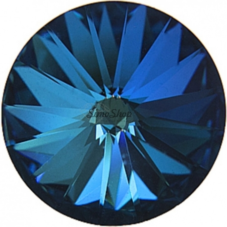 P2729-SWAROVSKI ELEMENTS 1122 Crystal Bermuda Blue Foiled 14mm-1buc