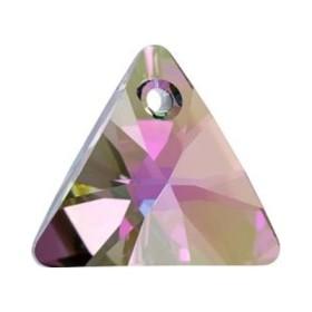 P0237-Swarovski Elements 6228 Violet Aurore Boreale 14mm-1 buc