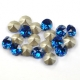 P1642-Swarovski Elements 1088 Capri Blue Foiled SS39 8mm 1 buc