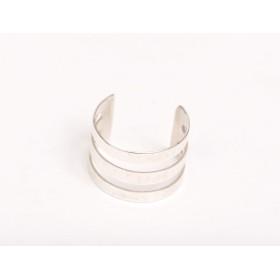 P1913-Swarovski Elements 6106 Crystal White Patina  16mm