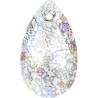 P1909-Swarovski Elements 6106 Crystal White Patina  22mm