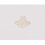 P0670-Swarovski Elements 6228 Crystal Aurore Boreale 14mm-1 buc