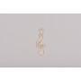 P1461-Swarovski Elements 6696 Crystal Bermuda Blue 30mm