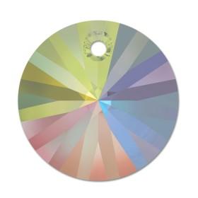 swarovski heart pendant 6228 aquamarine aurore boreale 14mm 6228 MM 14,4X 14,0 AQUAMARINE AB