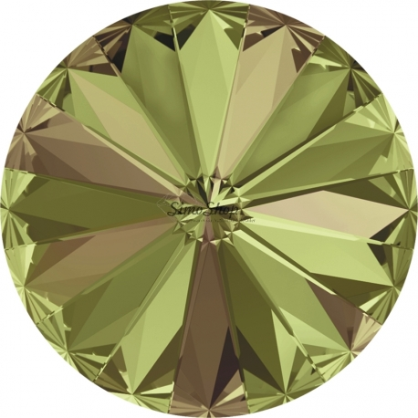 P0303-SWAROVSKI ELEMENTS 1122 Luminous Green Foiled 14mm-1buc