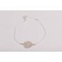 P0303-SWAROVSKI ELEMENTS 1122 Luminous Green Foiled 14mm-1buc