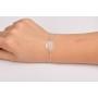 P0497-SWAROVSKI ELEMENTS 1122 Luminous Green Foiled 12mm-1buc