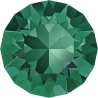 P1675-Swarovski Elements 1088 Emerald Foiled SS39 8mm