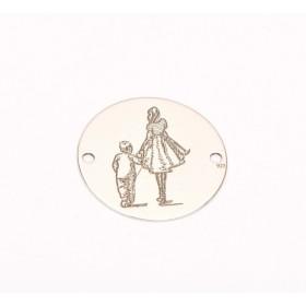 P2911-Swarovski Elements 6228 Crystal Black Patina 14mm