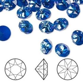 G1212-Baza pandant pentru Swarovski Flame 2205 6x7.5mm