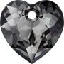 G1215-Distantier din argint 925 cu platou auxiliar pentru flower 4744 de 6mm