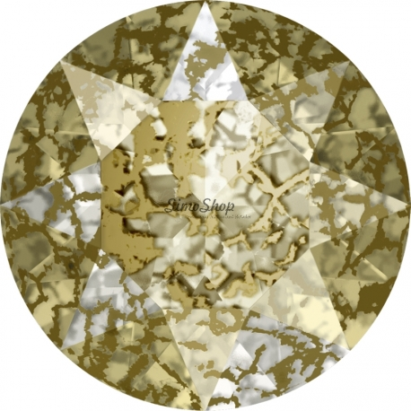 P2954-Swarovski Elements 1088 Gold Patina SS39 8mm