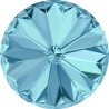 P0838-SWAROVSKI ELEMENTS 1122 Aquamarine Foiled 12mm-1buc