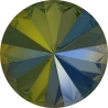 P2663-SWAROVSKI ELEMENTS 1122 Crystal Iridescent Green SS47-11mm