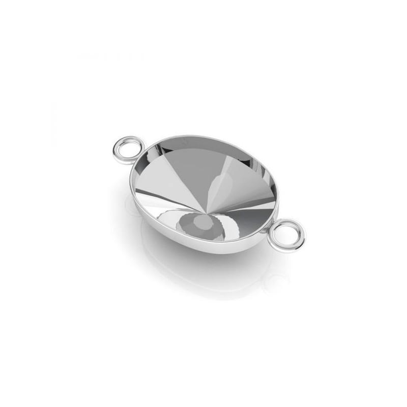 G1217-Agatatoare scoica perle gaurite pe jumatate 5810 de 6mm