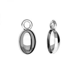 G1219-Charm rotund argint 925 19,5mm 1 buc