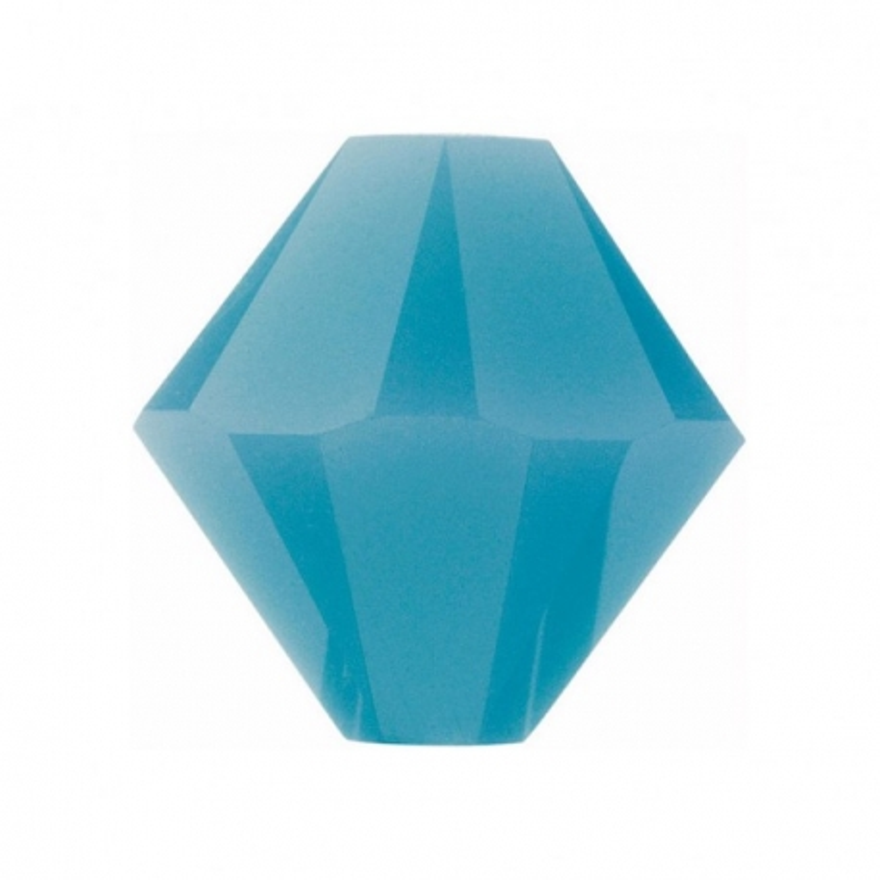0841-SWAROVSKI ELEMENTS 5328 Turquoise 4mm-1buc