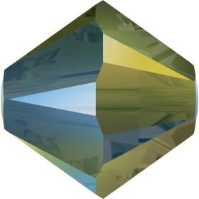 0842-SWAROVSKI ELEMENTS 5328 Crystal Moonlight 4mm 1buc