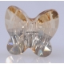 0852-Swarovski Elements 5754 Golden Shadow 6mm-1 buc