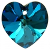 P0747-Swarovski Elements 6228 Crystal Bermuda Blue 14mm-1 buc