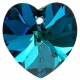 P0457-Swarovski Elements 6228 Bermuda Blue 10mm-1 buc