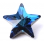 P1245-SWAROVSKI ELEMENTS 4745 Crystal Bermuda Blue 10mm Foiled