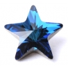 P1245-SWAROVSKI ELEMENTS 4745 Crystal Bermuda Blue 10mm Foiled