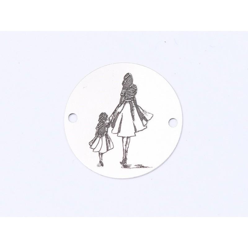 P0586-Swarovski Elements 6028 Crystal Silver Night 12mm 1 buc