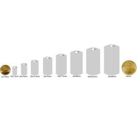 INOX003-Lant zale romb din inox 0,3x3mm - 1 metru