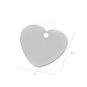 INOX005-Lant zale rotunde din inox 0,75x3mm - 1 metru