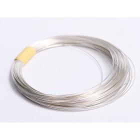 INOX010-Lant zale ovale cu striatii din inox 0,5x2,5mm - 1 metru