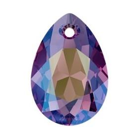 INOX035-Link floare cu doua gauri din inox 12x12mm
